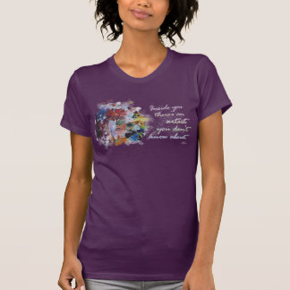 There's an artist you don't know t shirt
