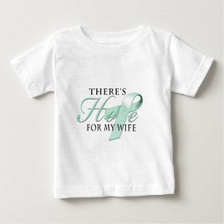 There's Hope for Ovarian Cancer Wife Tees