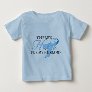 There's Hope for Prostate Cancer Husband Baby T-Shirt