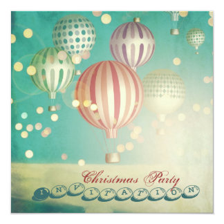 There's Magic in the Air -  Christmas Party Invite