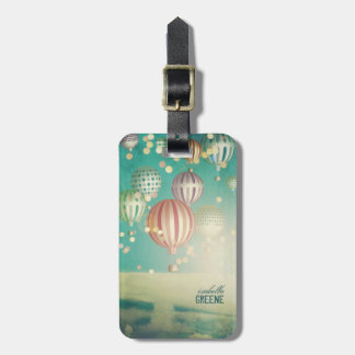 There's magic in the air luggage tag