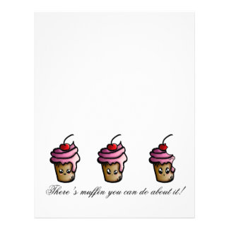 There's muffin you can do about it letterhead