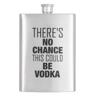 There's no chance this could be vodka flask
