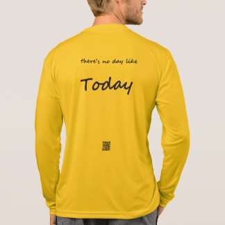 There's no day like today / challenge = change T-Shirt