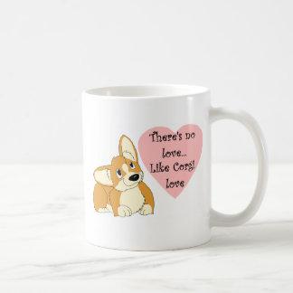 There's no love... coffee mug