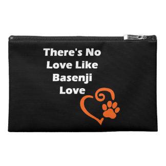 There's No Love Like Basenji Love Travel Accessory Bag