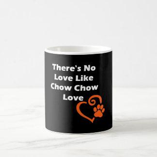 There's No Love Like Chow Chow Love Coffee Mug
