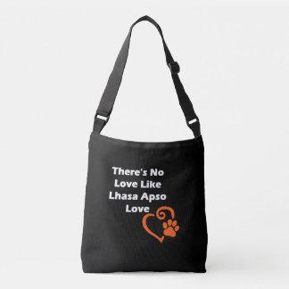 There's No Love Like Lhasa Apso Love Crossbody Bag