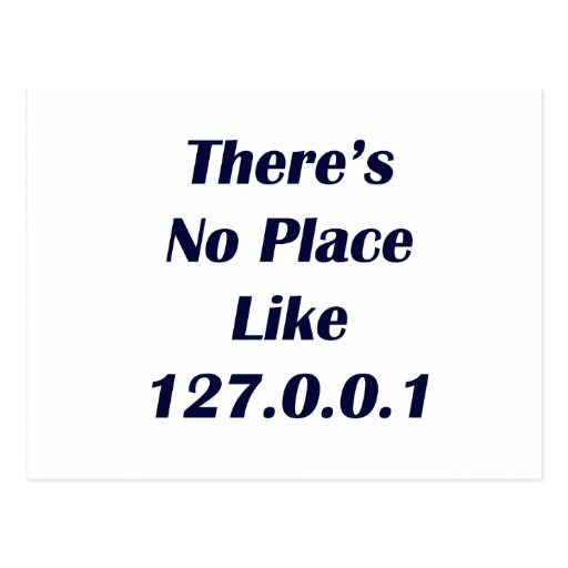 Theres No Place like 127001 Post Cards