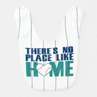 There's No Place Like Home Baseball Bib