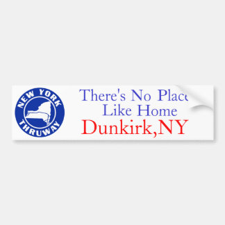 There's No Place Like Home, Bumper Sticker