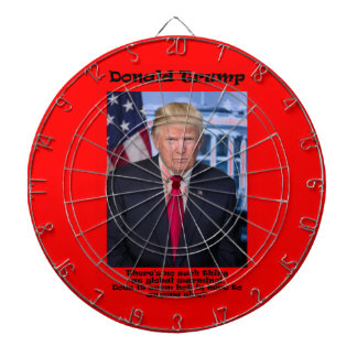 There's No Such Thing - Anti Trump Dartboard
