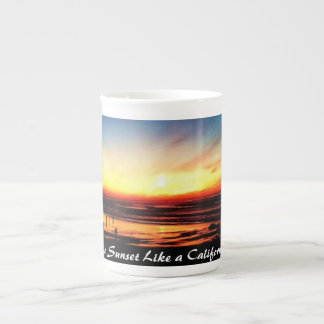 There's No Sunset Like A California Sunset Tea Cup