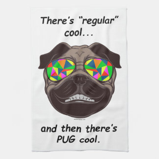 """There's """"Regular"""" Cool, and Then There's PUG Cool Towels"""