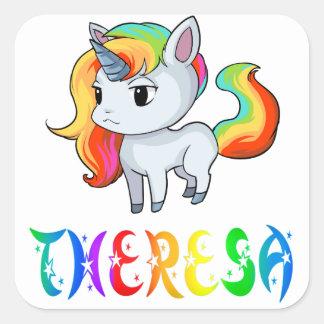 Theresa Unicorn Sticker