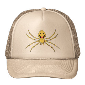 Theridion grallator AKA Happy Face Spider Mesh Hats