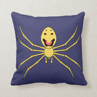 Theridion grallator AKA Happy Face Spider Throw Pillow