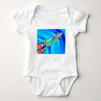 THERMAL IMAGE ATLANTIS SPACE SHUTTLE BABY BODYSUIT