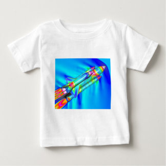 THERMAL IMAGE ATLANTIS SPACE SHUTTLE BABY T-Shirt