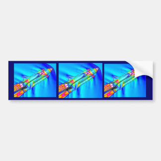 THERMAL IMAGE ATLANTIS SPACE SHUTTLE CAR BUMPER STICKER