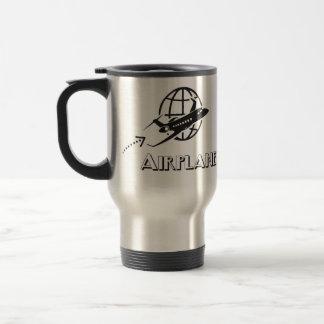 Thermal mug Pilot of airplane
