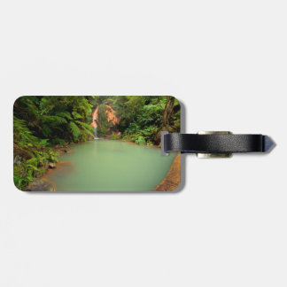 Thermal natural pool luggage tag