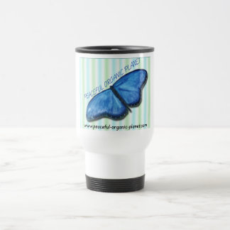 Thermal Travel Mug - peaceful organic planet