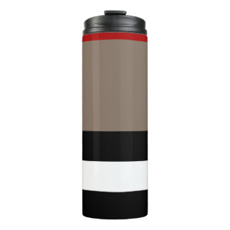 Thermal Tumbler - Beige Stripe