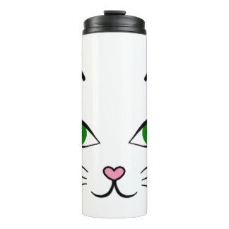 Thermal Tumbler - Kitty Face