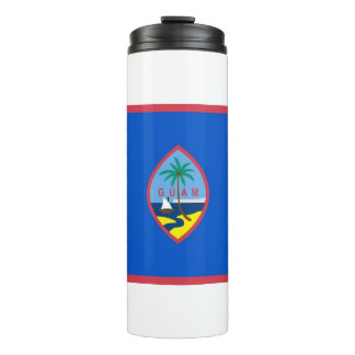 Thermal Tumbler with flag of Guam, USA