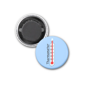 Thermometer Patient Check Temperature Hospital 1 Inch Round Magnet