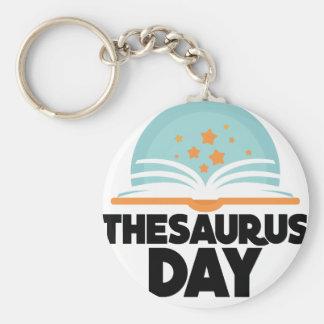 Thesaurus Day - Appreciation Day Keychain