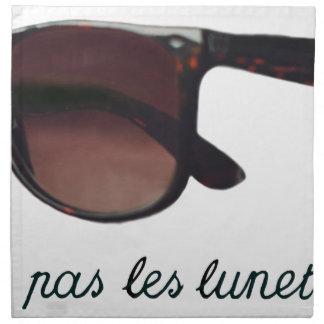 These are note sunglasses napkin