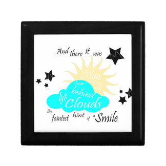 "These Broken Stars ""Smile"" Quote Gift Box"