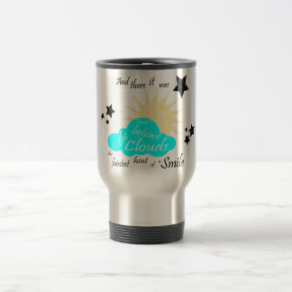 "These Broken Stars ""Smile"" Quote Travel Mug"