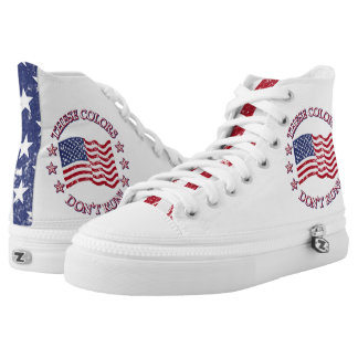 These Colors Don't Run! American Flag & Stars