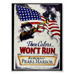 These Colours, Won't Run, Pearl Harbour Poster