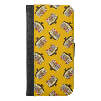 These Frenchies want to be your sweet banana split iPhone 6/6s Plus Wallet Case