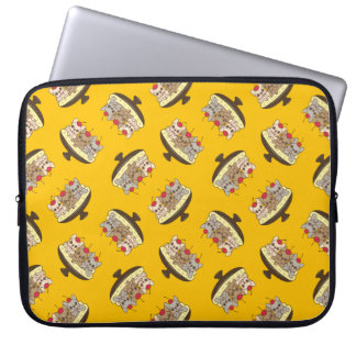 These Frenchies want to be your sweet banana split Laptop Sleeve