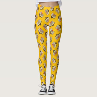 These Frenchies want to be your sweet banana split Leggings