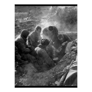 These men of the Heavy Mortar Co_War Image Poster