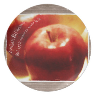 These Quiet Seasons Samhain Apples Plate