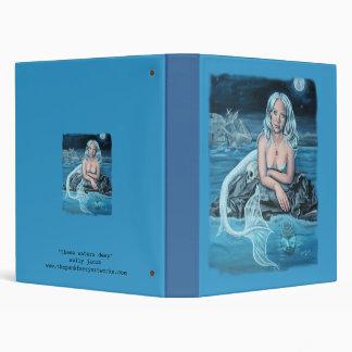 these waters deep mermaid binder