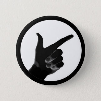 TheseGuys Pointing Hand 2 Inch Round Button