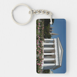 Theseus Temple Vienna Austria Double-Sided Rectangular Acrylic Keychain