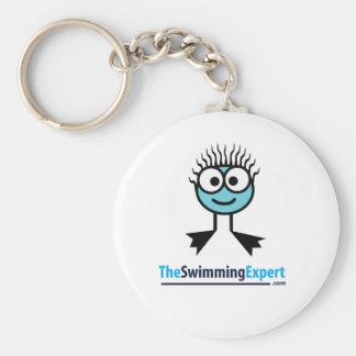 TheSwimmingExpert Swim Character Key Ring