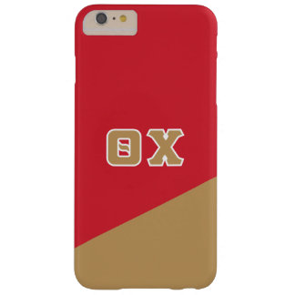 Theta Chi | Greek Letters Barely There iPhone 6 Plus Case
