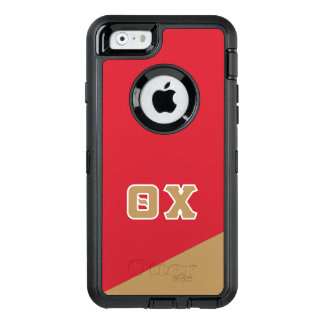 Theta Chi | Greek Letters OtterBox Defender iPhone Case