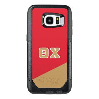 Theta Chi | Greek Letters OtterBox Samsung Galaxy S7 Edge Case