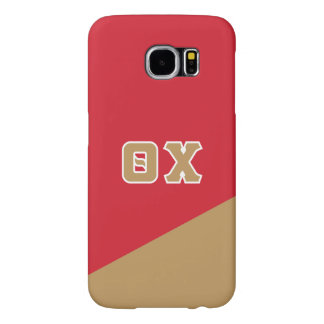 Theta Chi | Greek Letters Samsung Galaxy S6 Cases